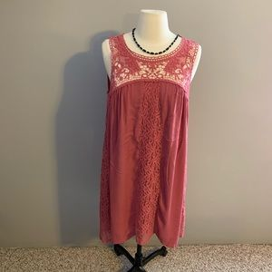 NWT Maurices lace shift dress